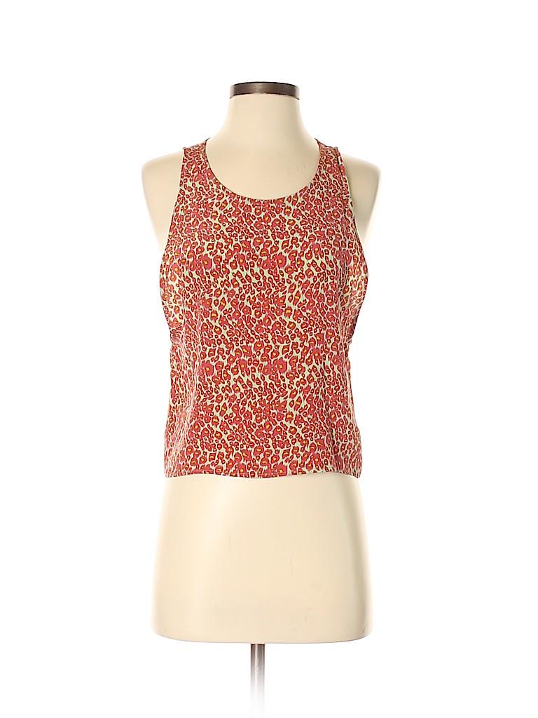 Wren Women Sleeveless Silk Top Size XS