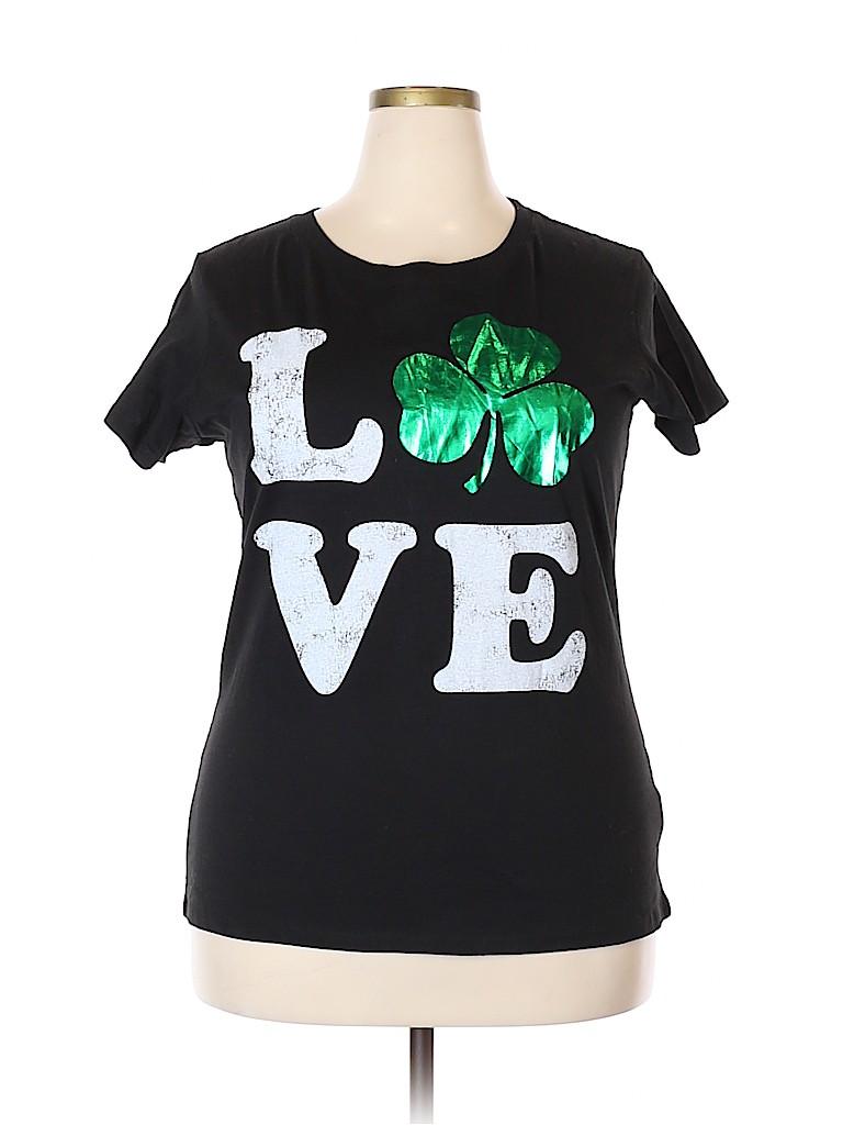 Clover Canyon Women Short Sleeve T-Shirt Size 18 - 20 (Plus)