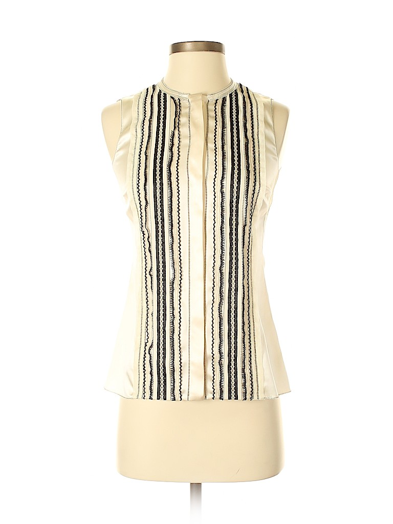 Dolce & Gabbana Women Sleeveless Silk Top Size 36
