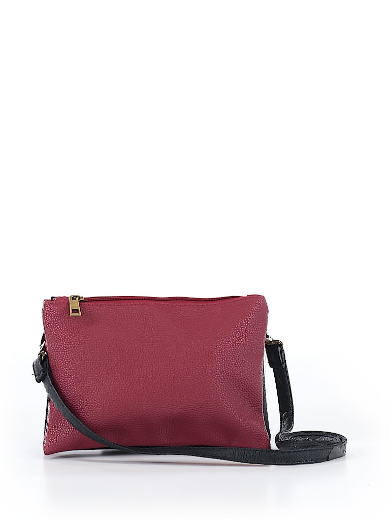 Unbranded Women Leather Crossbody Bag One Size