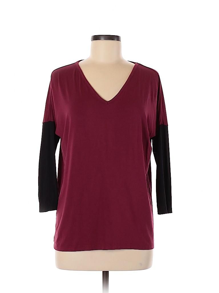 Charming Charlie Women 3/4 Sleeve T-Shirt Size M