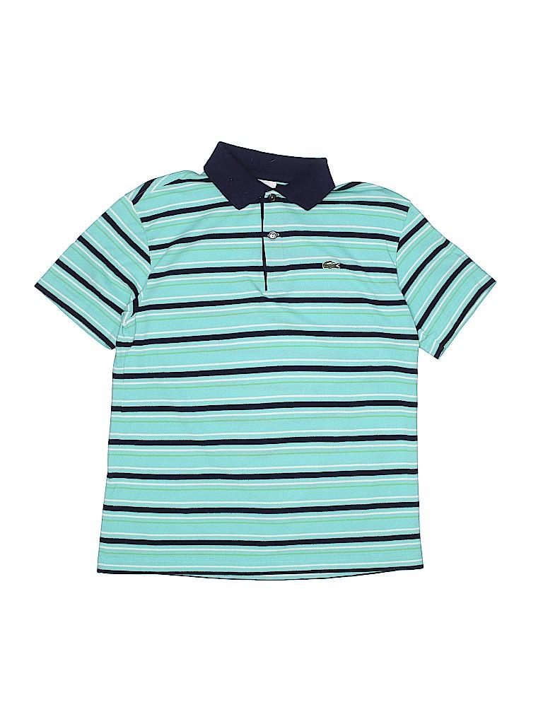 Lacoste Girls Short Sleeve Polo Size 16