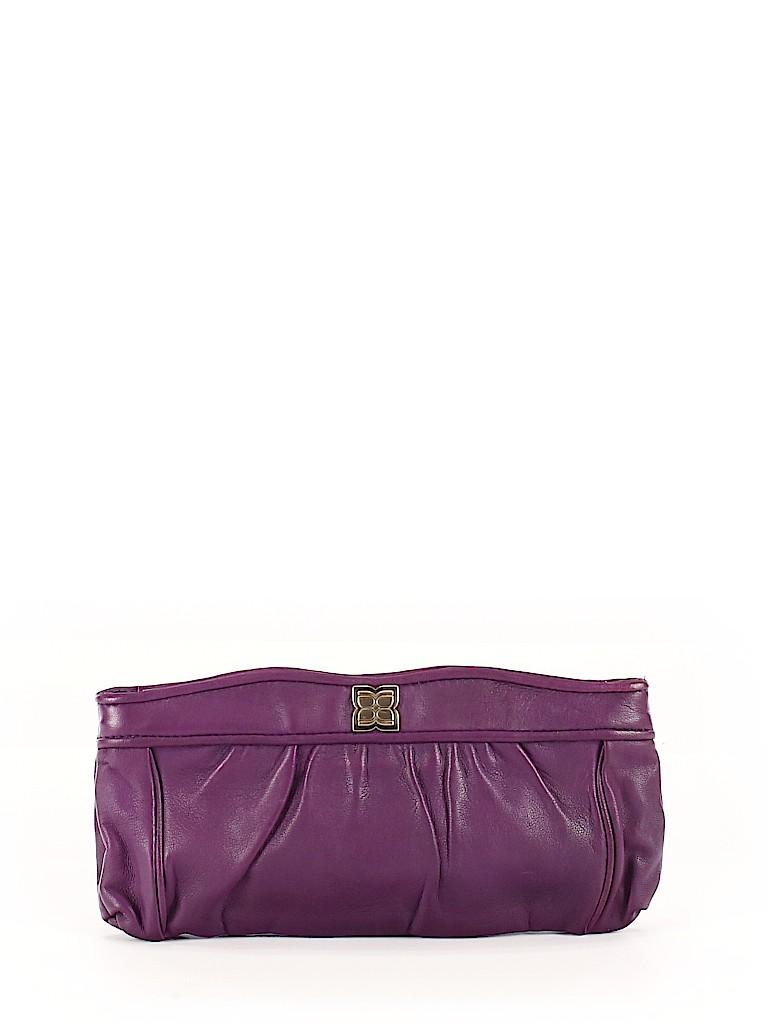 BCBGMAXAZRIA Women Leather Clutch One Size