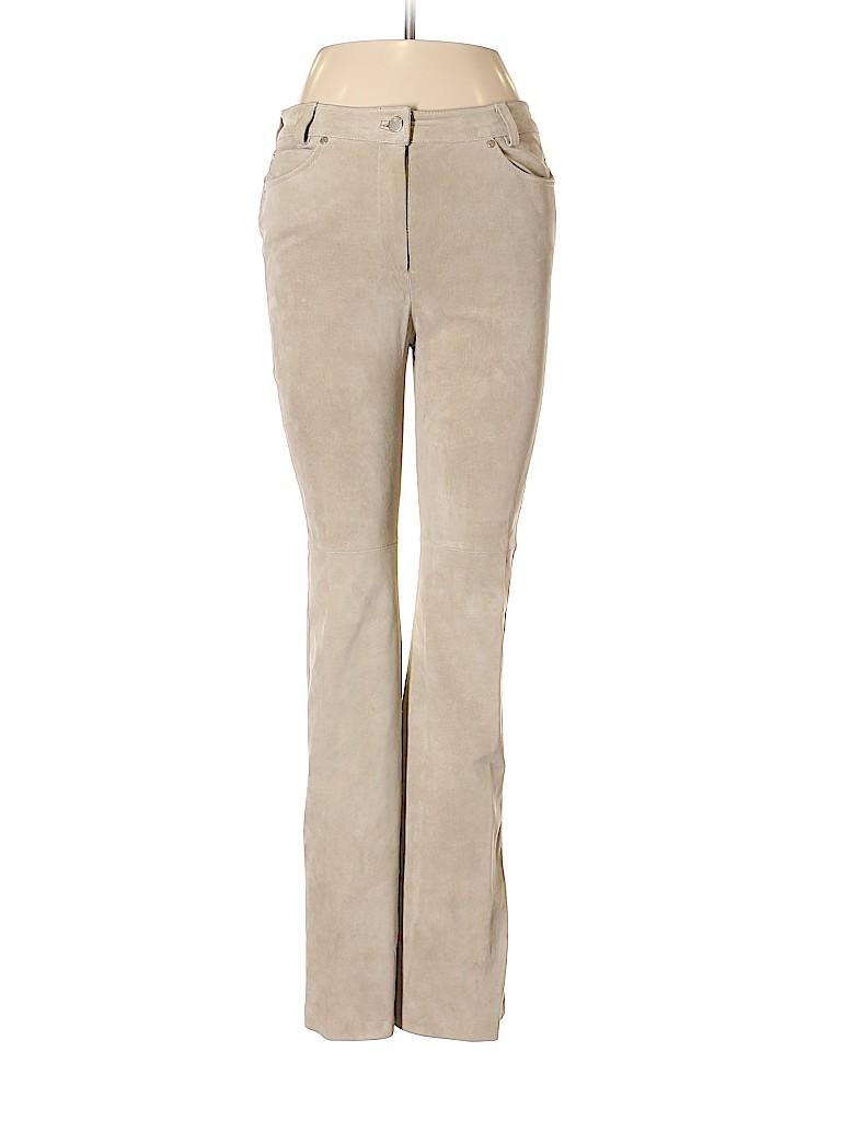 Yansi Fugel Women Leather Pants Size 8