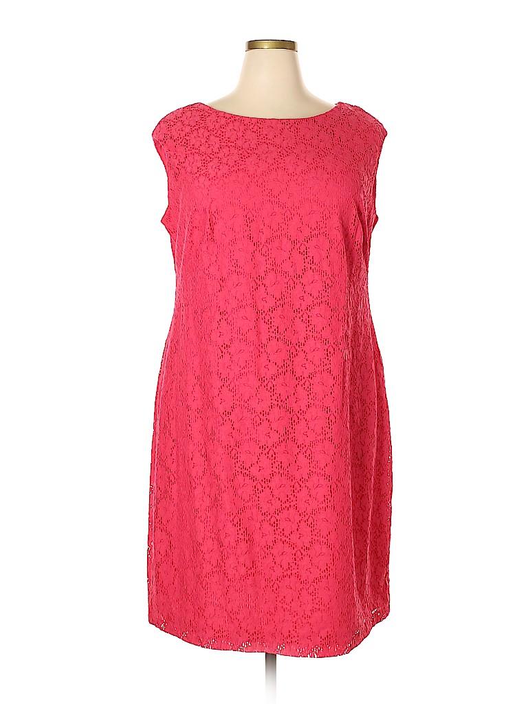 Chaps Women Casual Dress Size 18W (Plus)