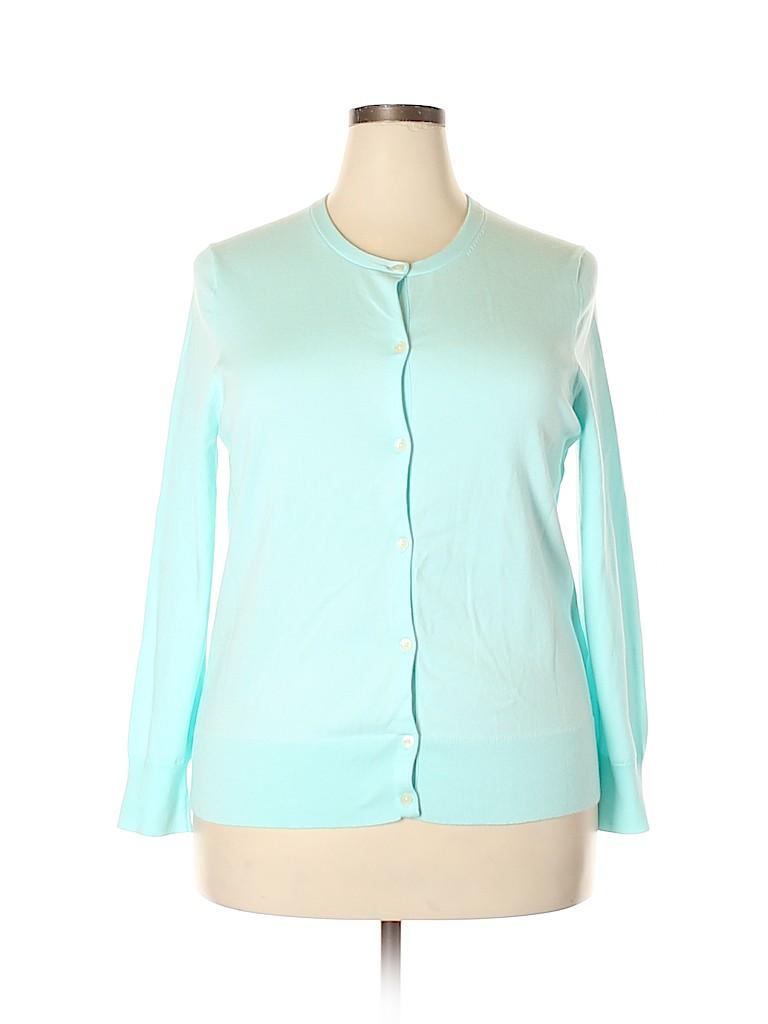 Lands' End Women Cardigan Size XL (Petite)