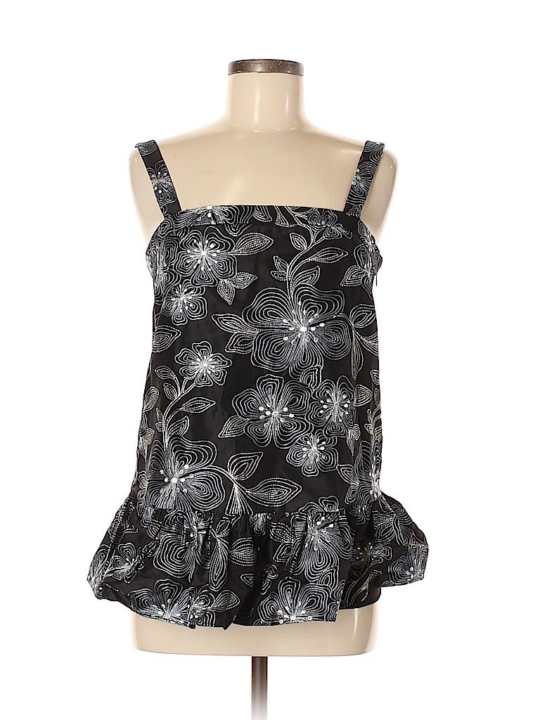 CO Women Sleeveless Silk Top Size M