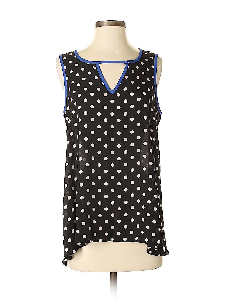 Bobeau Women Sleeveless Blouse Size S