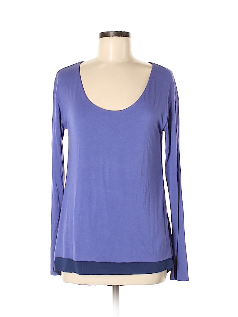 Elie Tahari Women Long Sleeve Top Size M