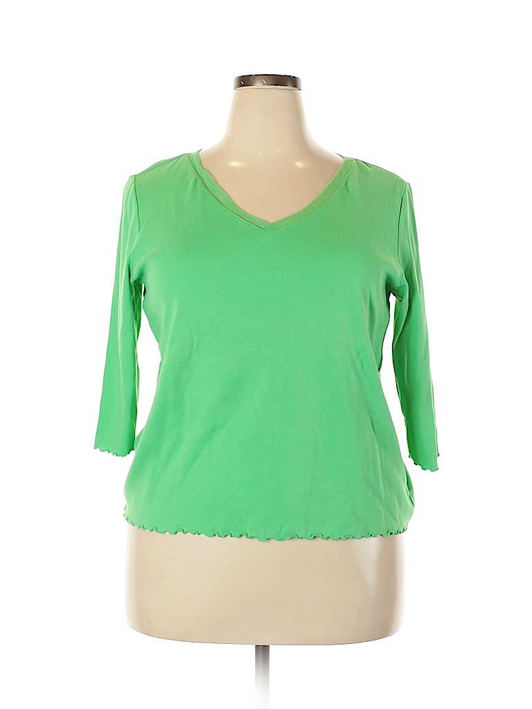 Avenue Women 3/4 Sleeve Top Size 18 - 20 Plus (Plus)