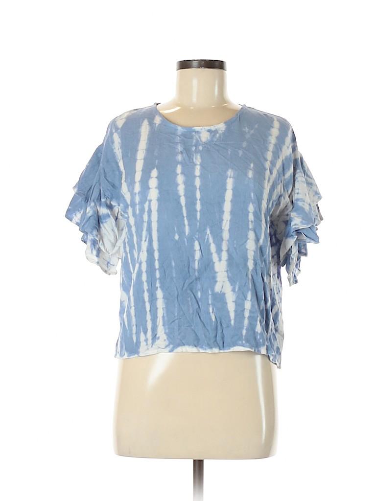 Style Envy Women Short Sleeve Blouse Size M