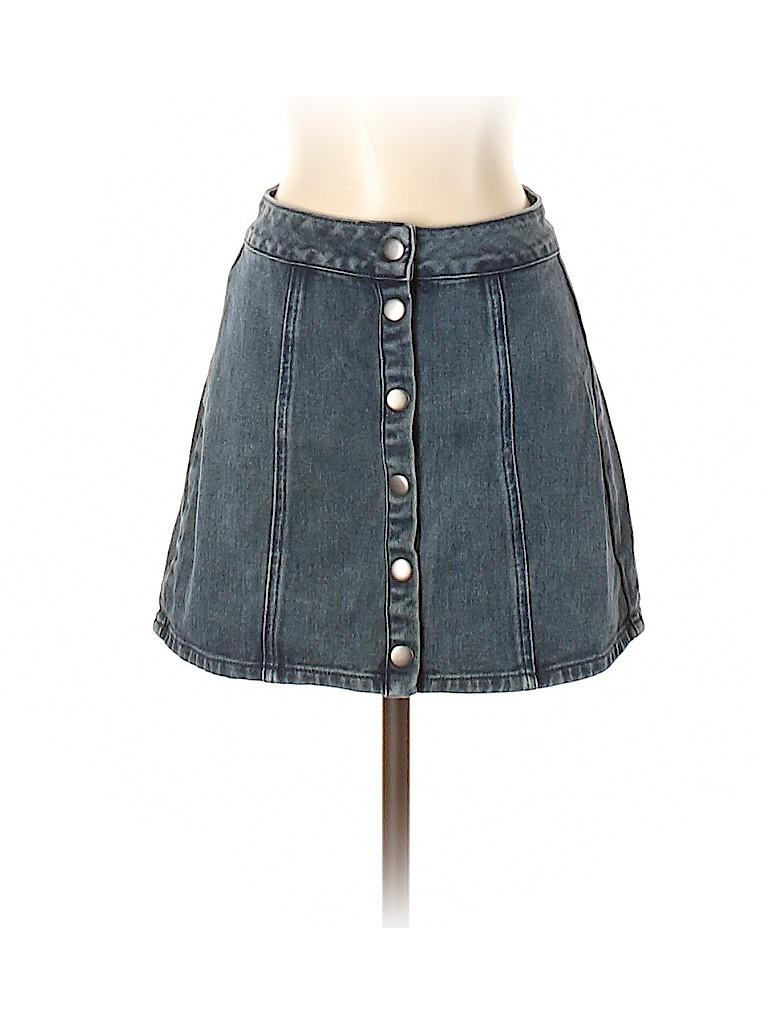 Melville Women Denim Skirt 25 Waist