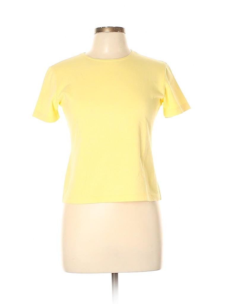 Leggiadro Women Short Sleeve T-Shirt Size XL