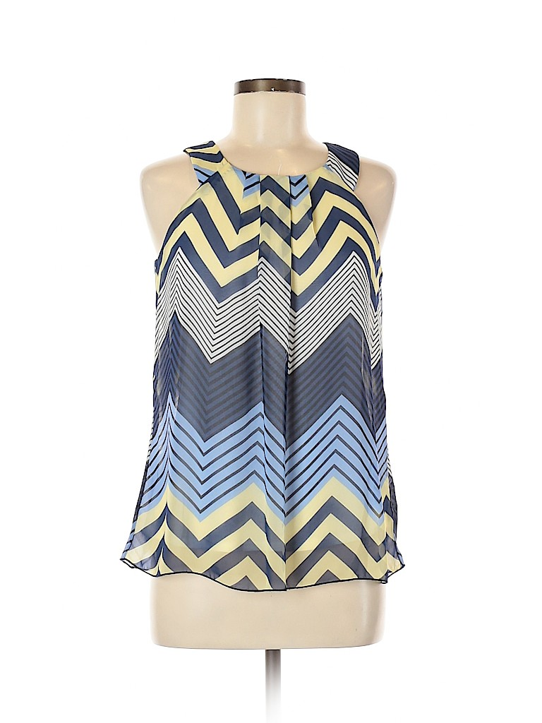 I.N. San Francisco Women Sleeveless Blouse Size M