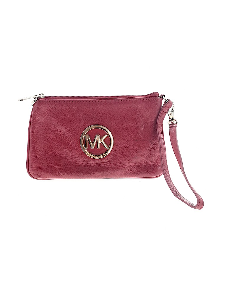 MICHAEL Michael Kors Women Leather Wristlet One Size