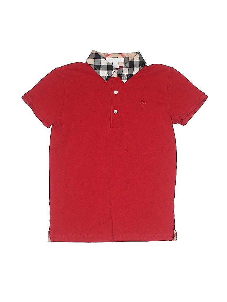 Burberry Boys Short Sleeve Polo Size 10
