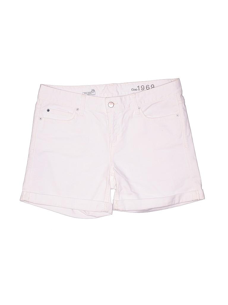 Gap Women Denim Shorts 29 Waist