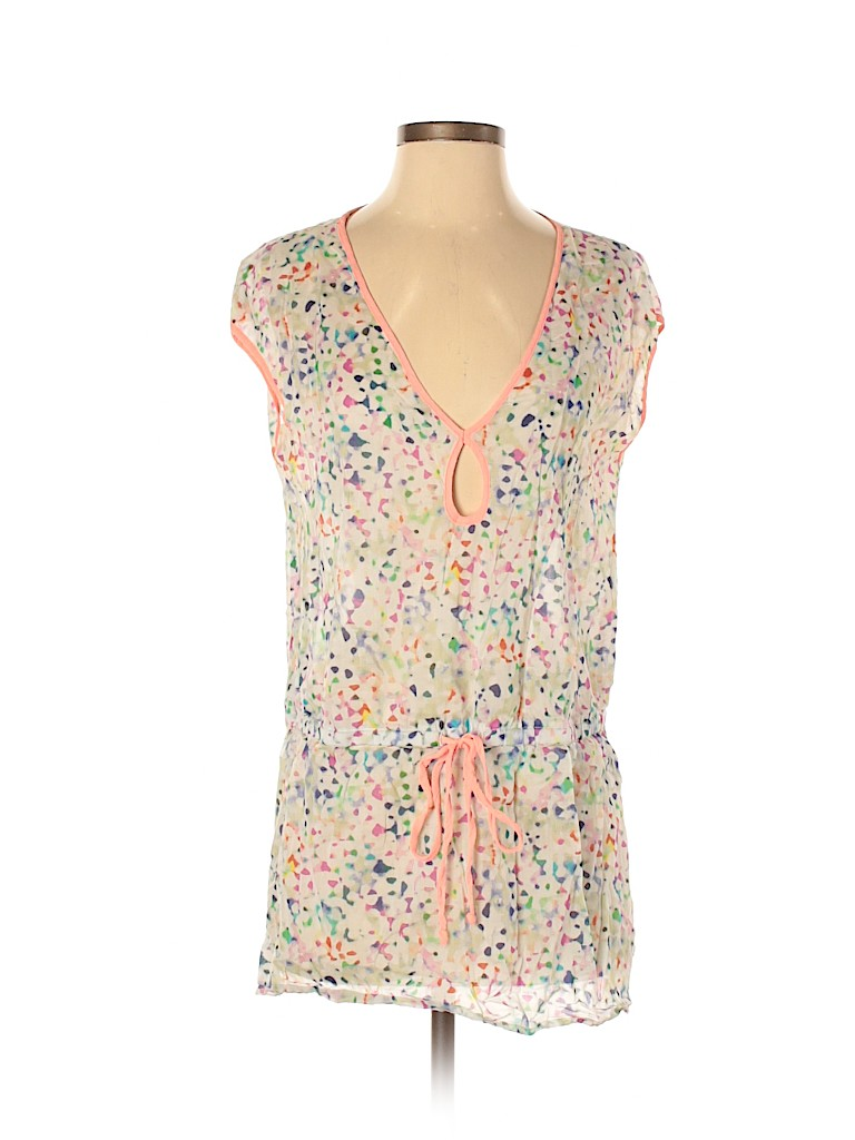 Milly Women Short Sleeve Blouse Size S