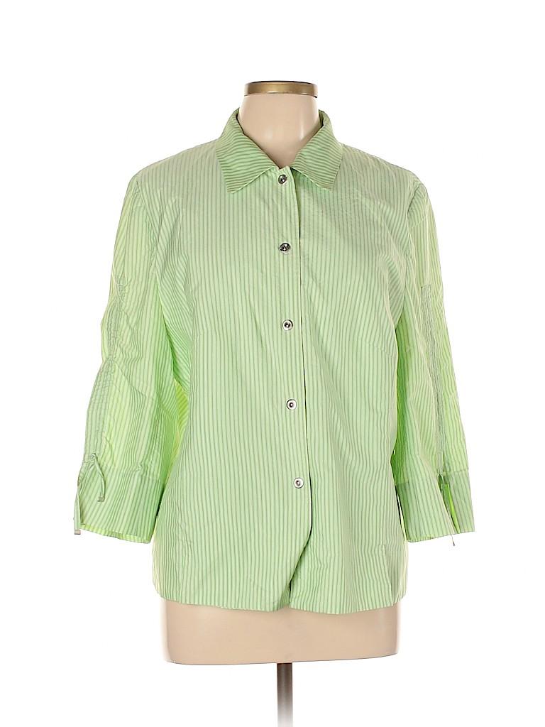 Basler Women 3/4 Sleeve Blouse Size 44 (EU)