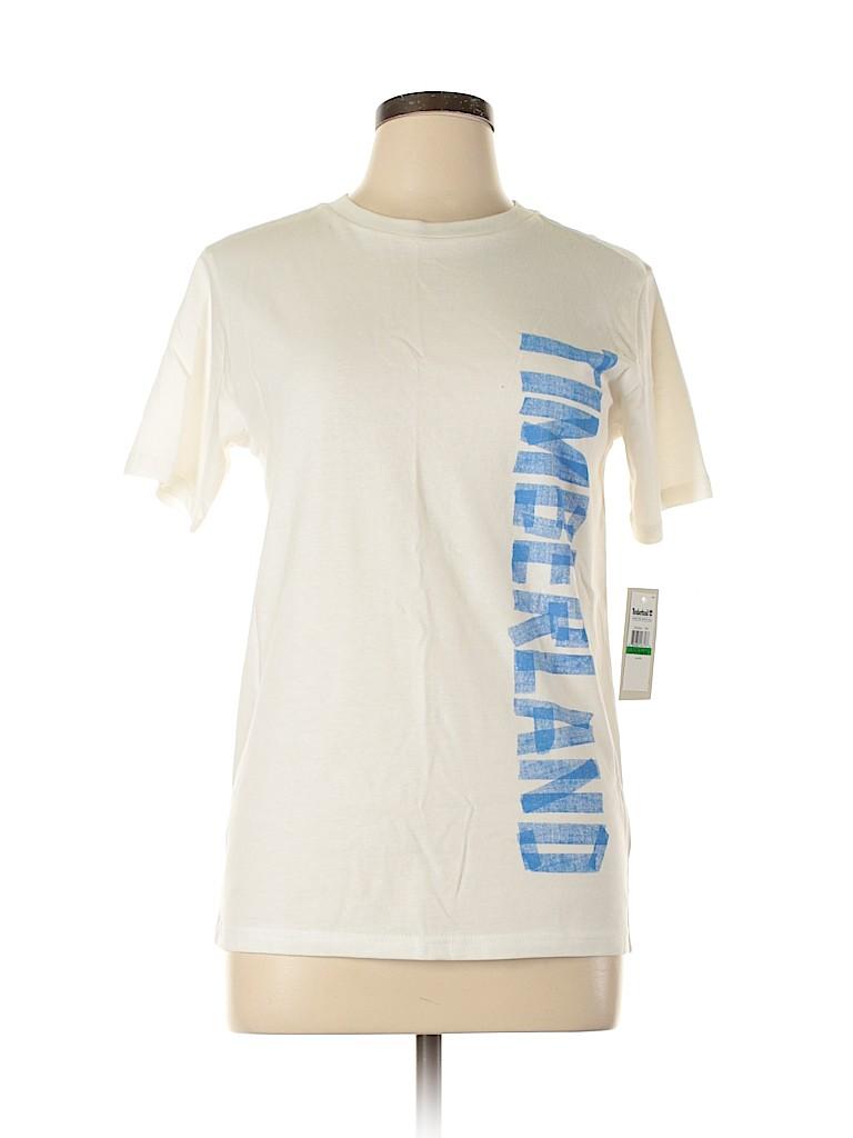 Timberland Women Short Sleeve T-Shirt Size L