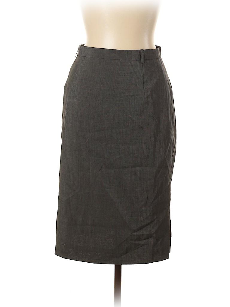 Escada Women Wool Skirt Size 42 (EU)
