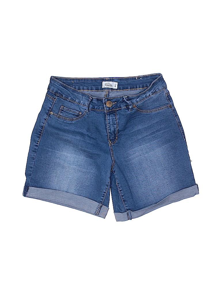Royalty For Me Women Denim Shorts Size 6
