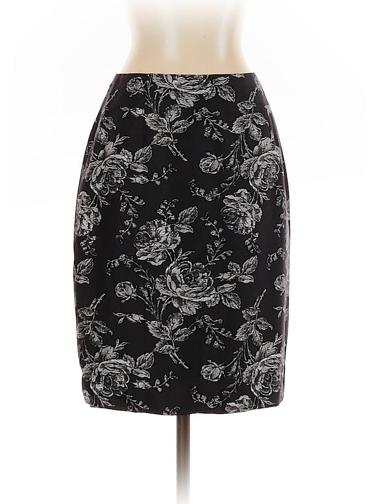 Ann Taylor Women Silk Skirt Size 2