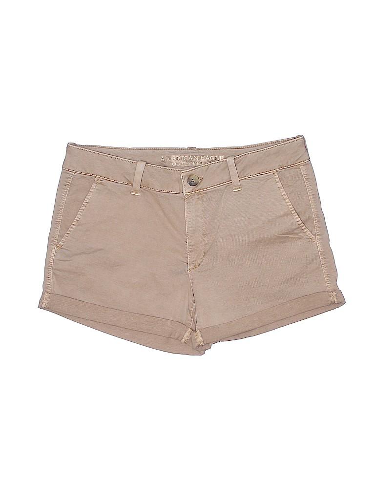 American Eagle Outfitters Women Khaki Shorts Size 14