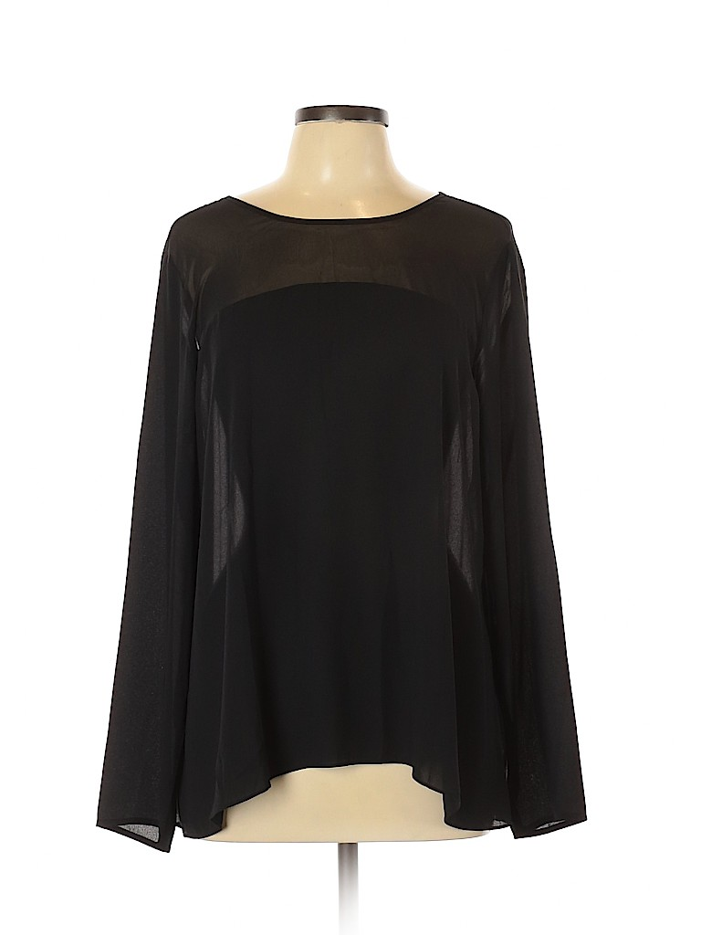 Charming Charlie Women Long Sleeve Blouse Size L