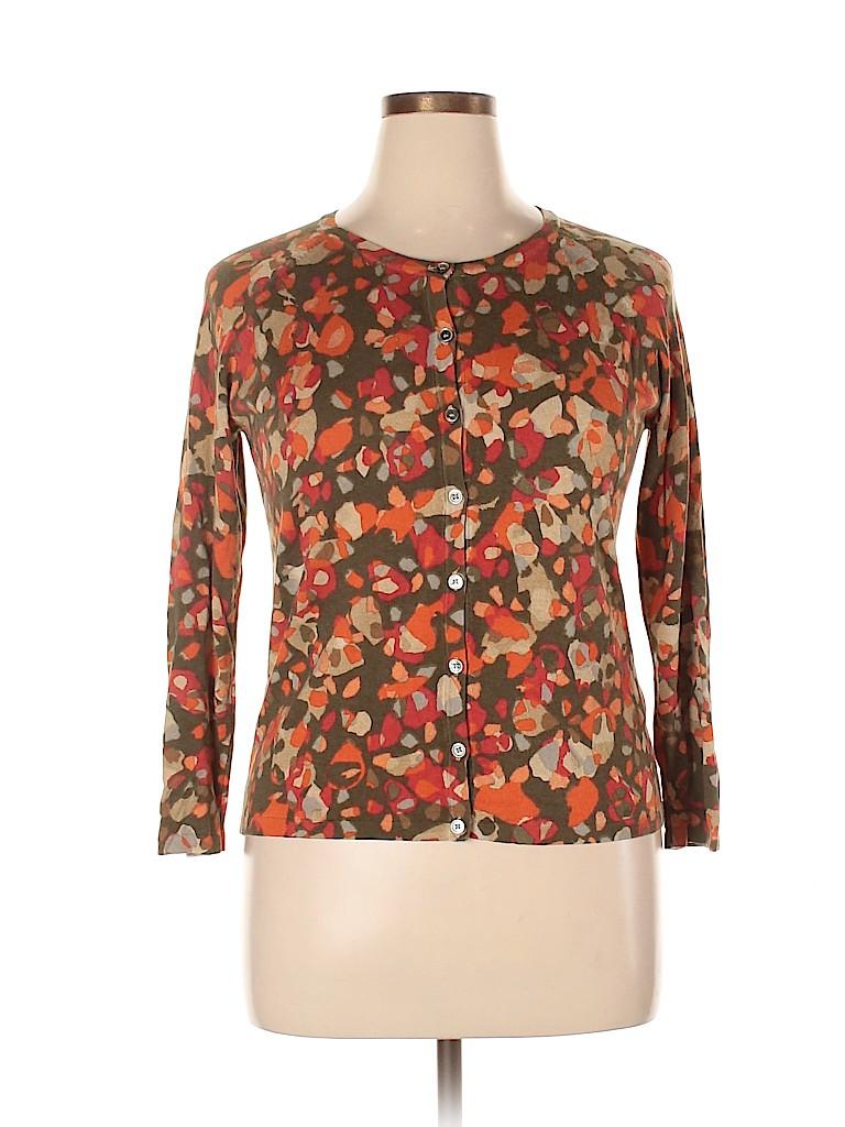 Weekend Max Mara Women Silk Cardigan Size XL