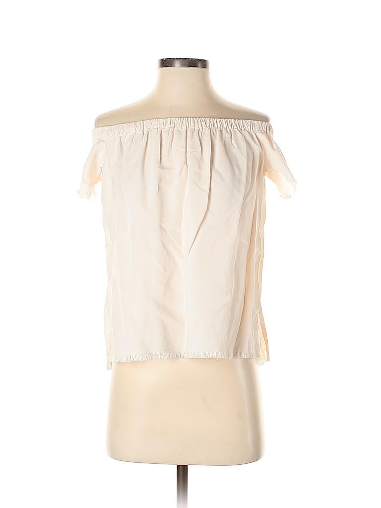 Bella Dahl Women Short Sleeve Blouse Size XS