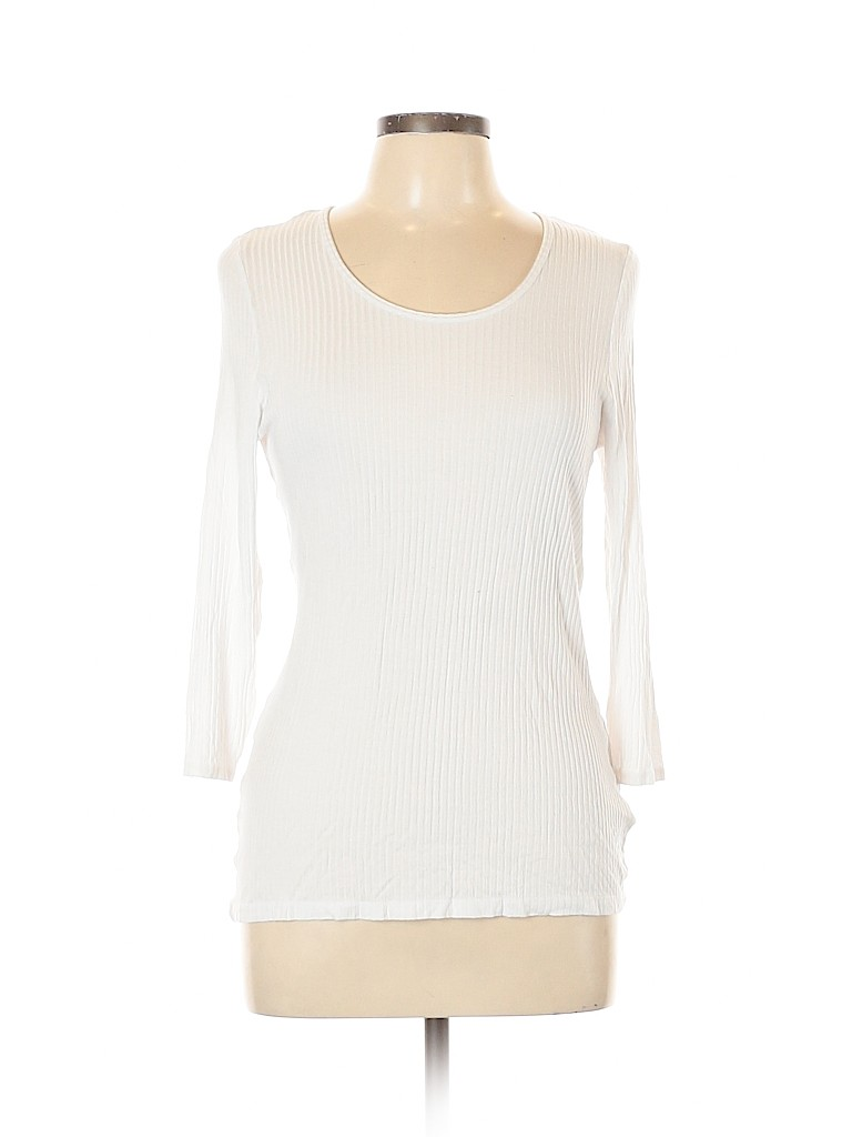 Catherine Malandrino Women 3/4 Sleeve Top Size L