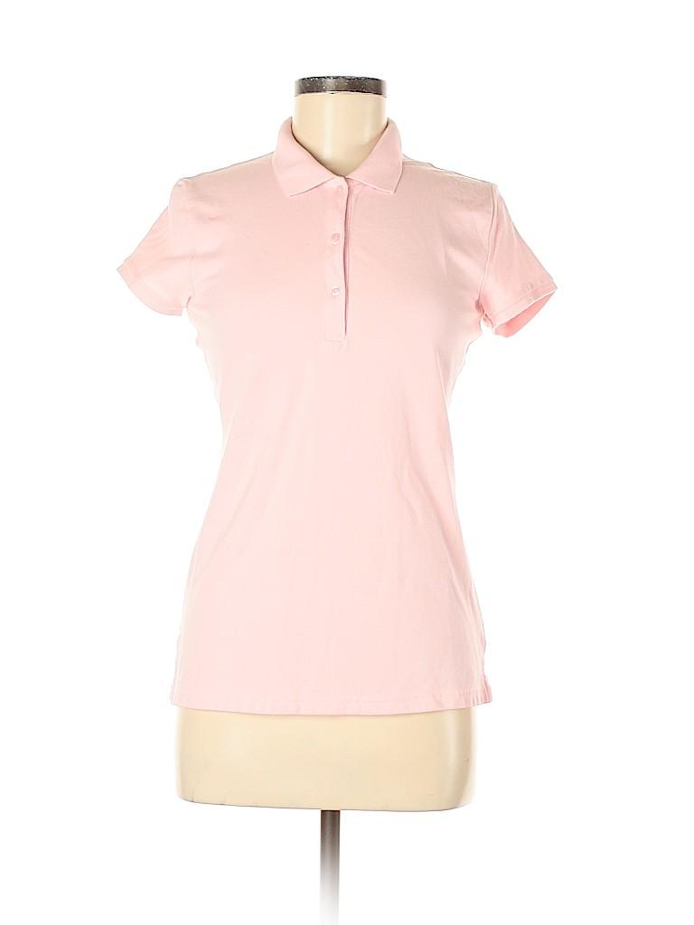 Arizona Jean Company Women Short Sleeve Polo Size M