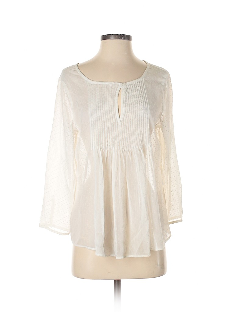 Old Navy Women 3/4 Sleeve Blouse Size S