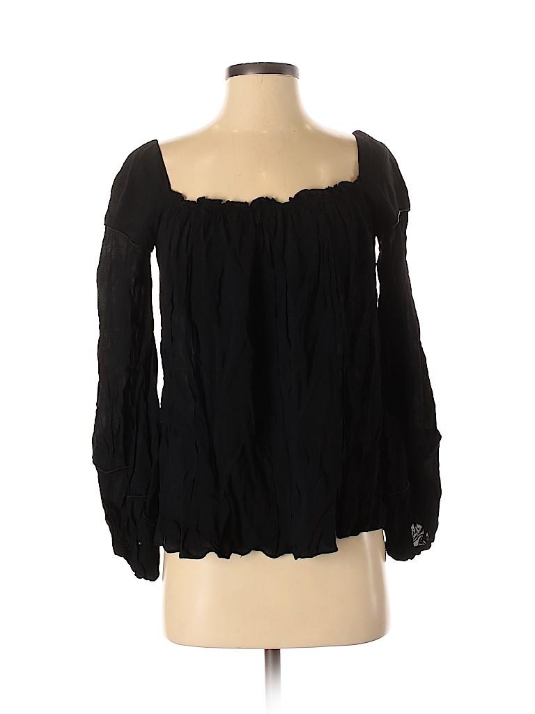 Zac Posen Women Long Sleeve Blouse Size 4