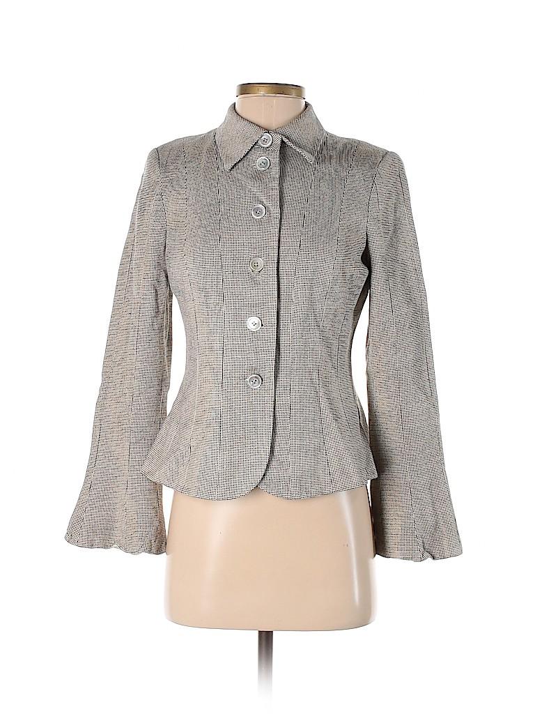 Etcetera Women Silk Blazer Size 4