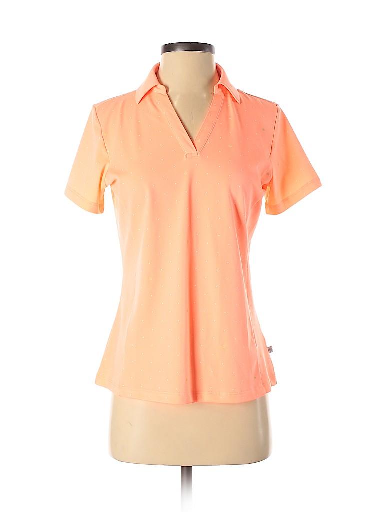 Lady Hagen Women Short Sleeve Polo Size S