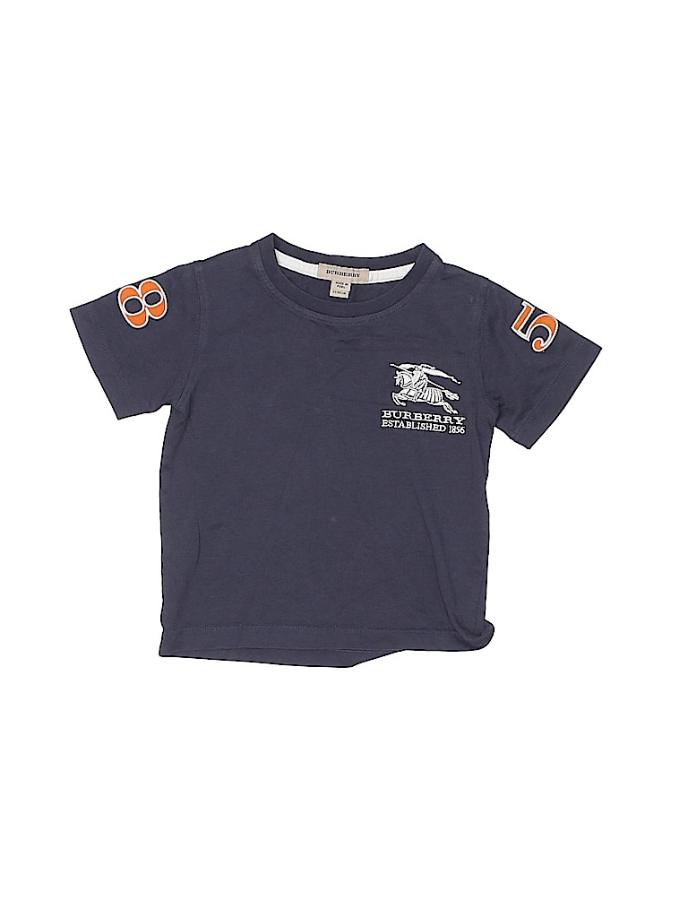 Burberry Boys Short Sleeve T-Shirt Size 2