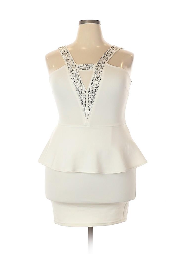 Charlotte Russe Women Cocktail Dress Size L