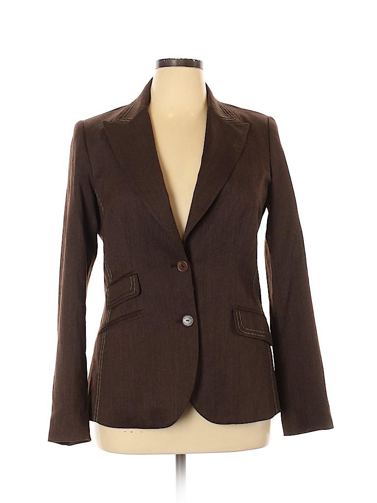 Badgley Mischka Women Wool Blazer Size 14