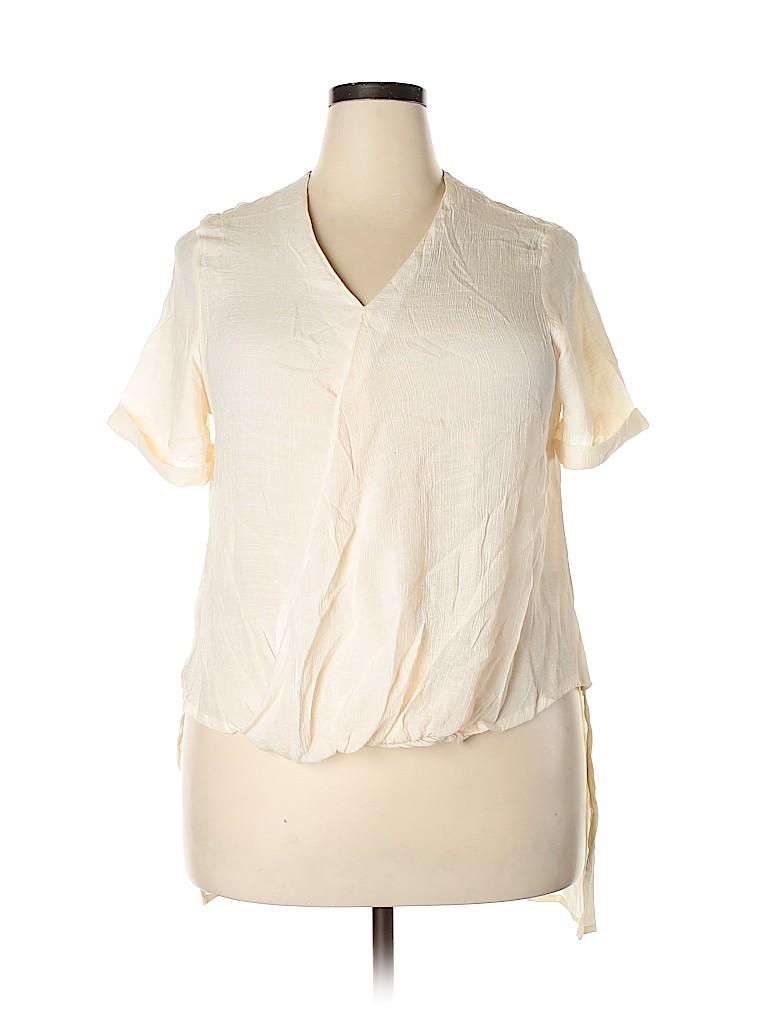 Cato Women Short Sleeve Blouse Size 20 (Plus)