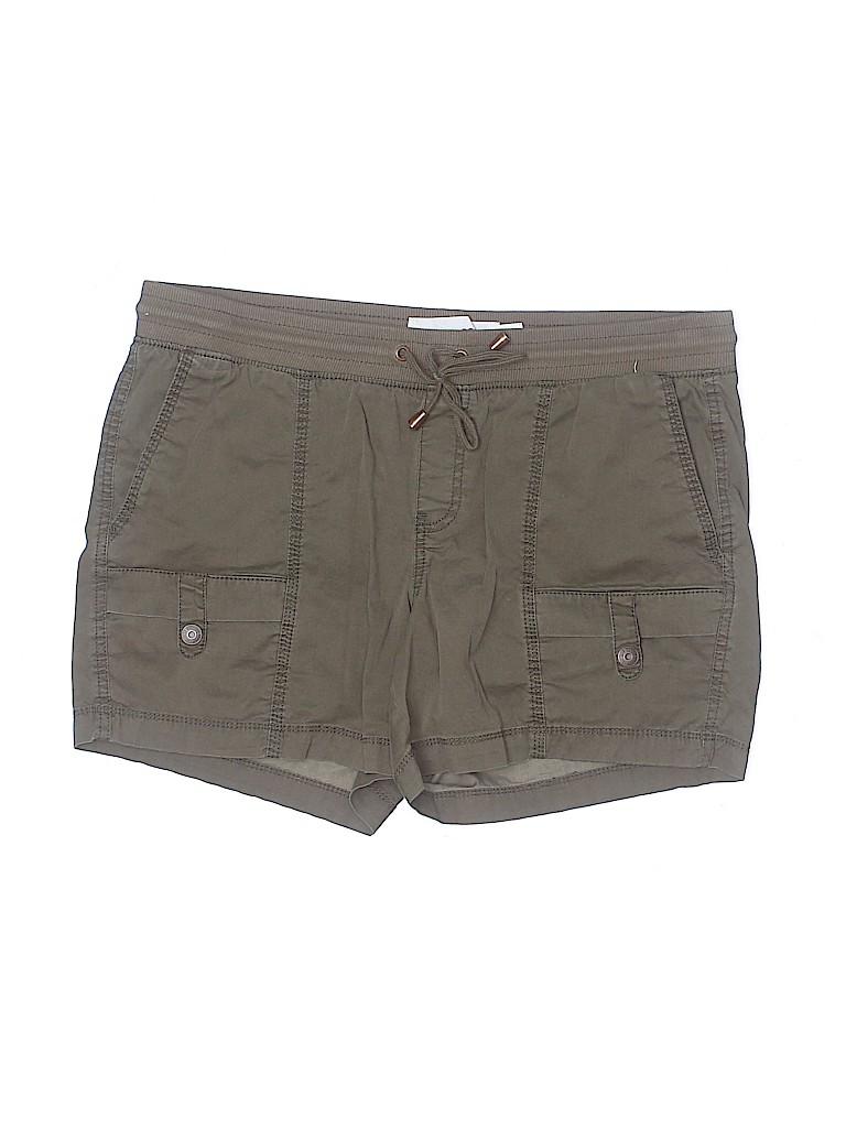 Sonoma Goods for Life Women Khaki Shorts Size 12