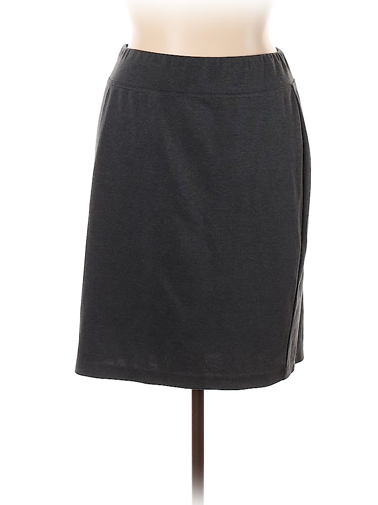 Style&Co Women Casual Skirt Size 1X (Plus)