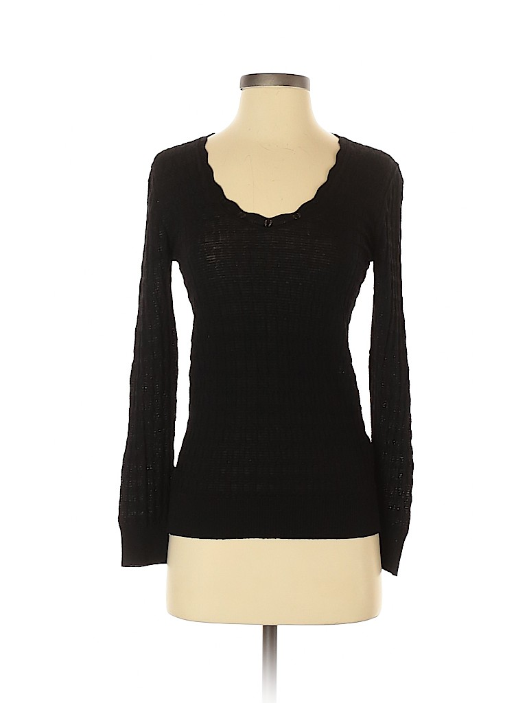 M Missoni Women Wool Pullover Sweater Size 42 (IT)