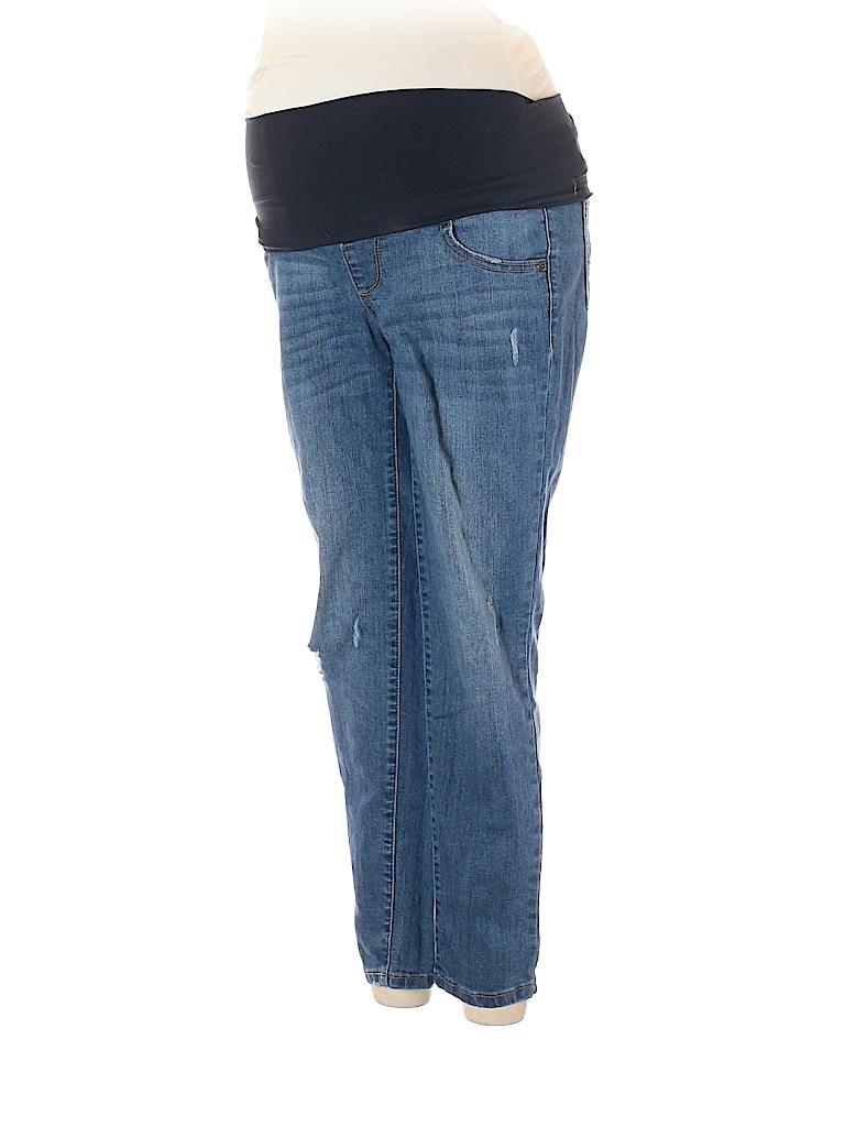 A:glow Women Jeans Size 2 (Maternity)