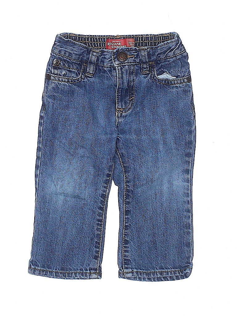 Old Navy Boys Jeans Size 12-24 mo