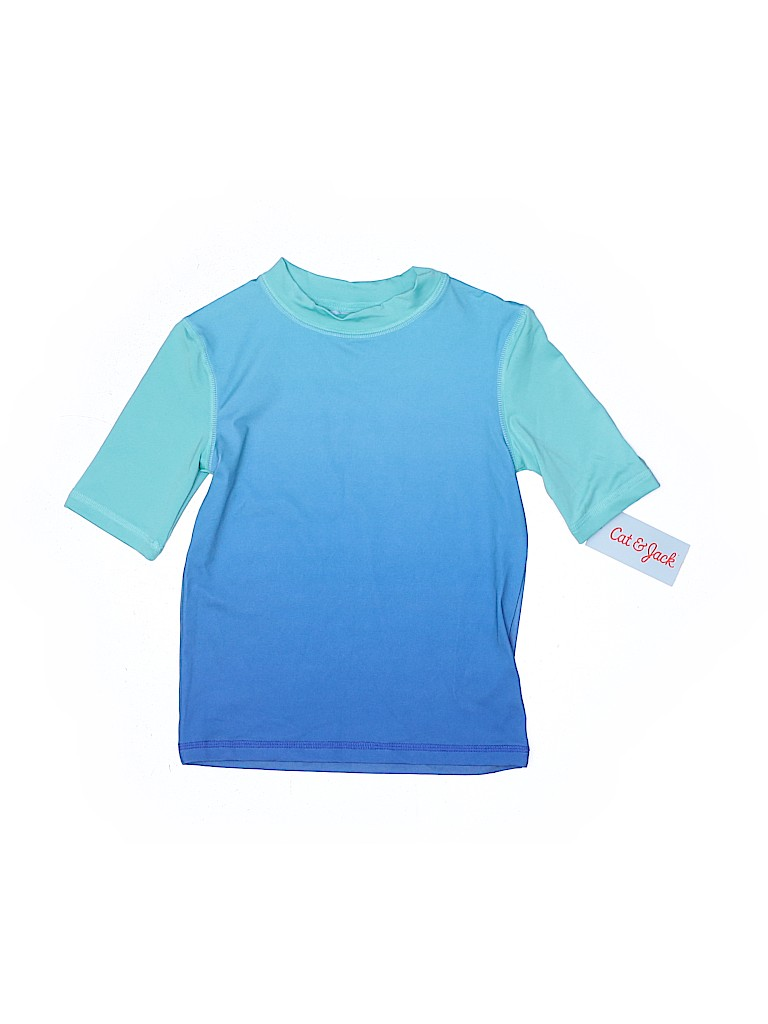Cat & Jack Boys Rash Guard Size 4 - 5