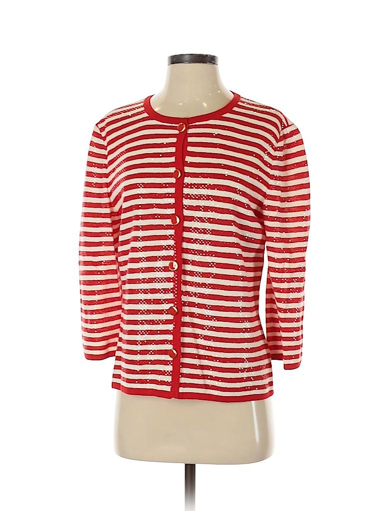 St. John Collection Women Cardigan Size 8