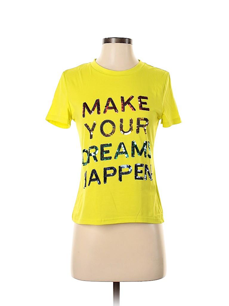 Unbranded Women Short Sleeve T-Shirt Size 8