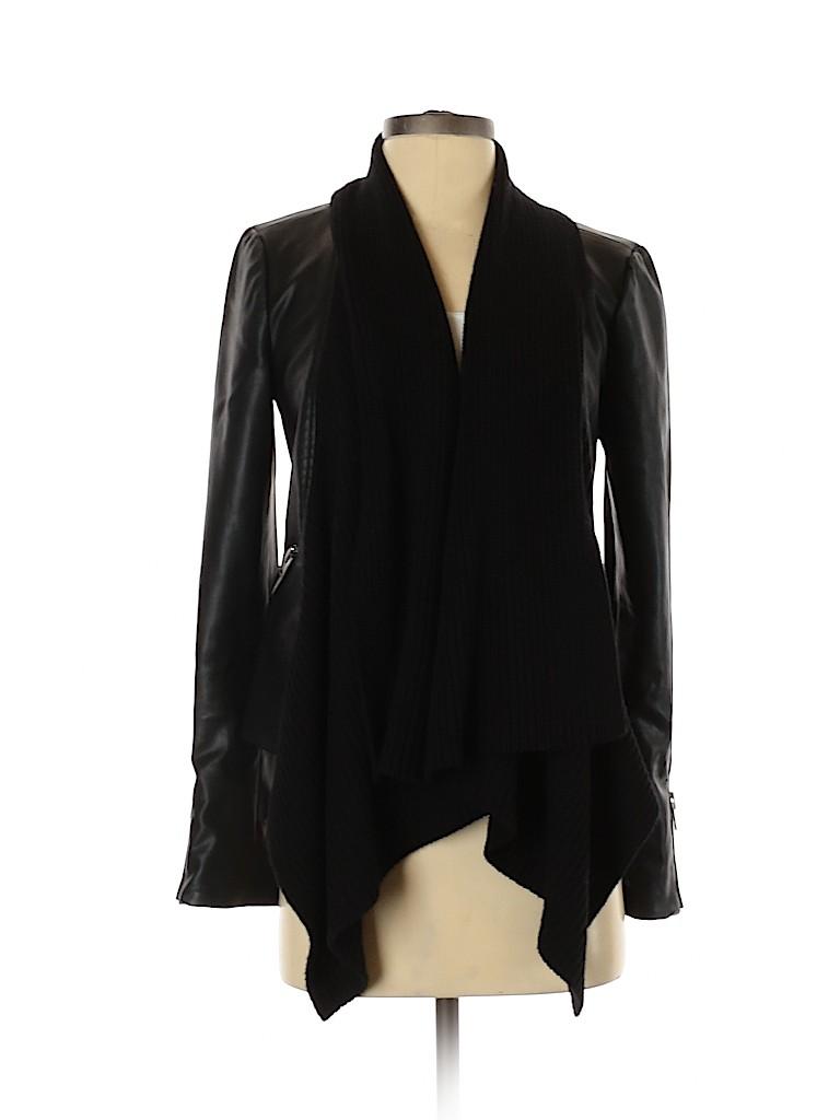 Bardot Women Faux Leather Jacket Size XS
